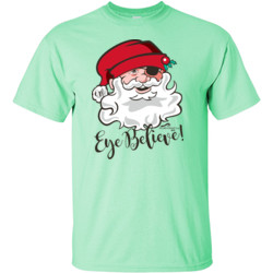 Eye Believe Holiday Shirt - Gildan - 6.1oz 100% Cotton T Shirt - DTG
