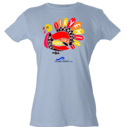Eye'm Thankful - Tultex - Ladies' Slim Fit Fine Jersey Tee (DTG)