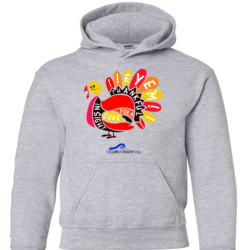 Eye'm Thankful - Gildan - 18500B (DTG) - 50/50 Youth Hooded Sweatshirt