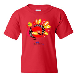 Eye'm Thankful - Gildan - 5000B (DTG) - Youth 5.3oz 100% Cotton T Shirt