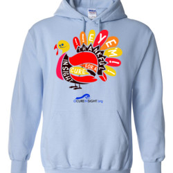 Eye'm Thankful - Gildan - 8 oz. 50/50 Hooded Sweatshirt - DTG