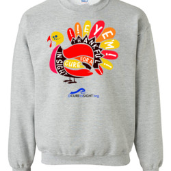 Eye'm Thankful - Gildan - 8oz. 50/50 Crewneck Sweatshirt - DTG