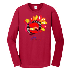 Eye'm Thankful - Gildan - Softstyle ® Long Sleeve T Shirt - DTG
