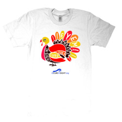 Eye'm Thankful - American Apparel - Unisex Fine Jersey T-Shirt - DTG