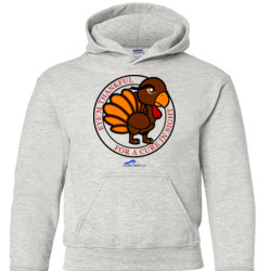Eye'm Thankful For A Cure In Sight - Gildan - 18500B (DTG) - 50/50 Youth Hooded Sweatshirt