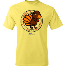 Eye'm Thankful For A Cure In Sight - Hanes - TaglessT-Shirt - DTG