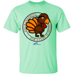 Eye'm Thankful For A Cure In Sight - Gildan - 6.1oz 100% Cotton T Shirt - DTG