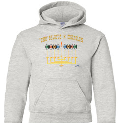 Eye Believe In Miracles  - Gildan - 18500B (DTG) - 50/50 Youth Hooded Sweatshirt