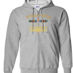 Eye Believe In Miracles  - Gildan - Full Zip Hooded Sweatshirt - DTG